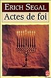 echange, troc Erich Segal - Actes de foi