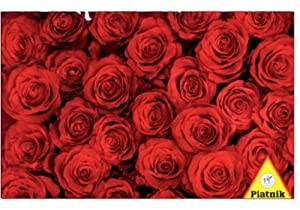 Red Roses - 1000pc Jigsaw Puzzle by Piatnik