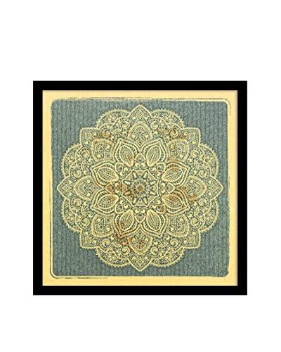 Ornamental Pattern I Framed Corkboard