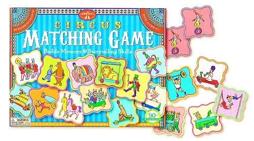 eeBoo-Circus-Matching-Game