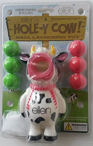 Ellen Hole-y Cow Ball Launching Toy, 1 ea - 1