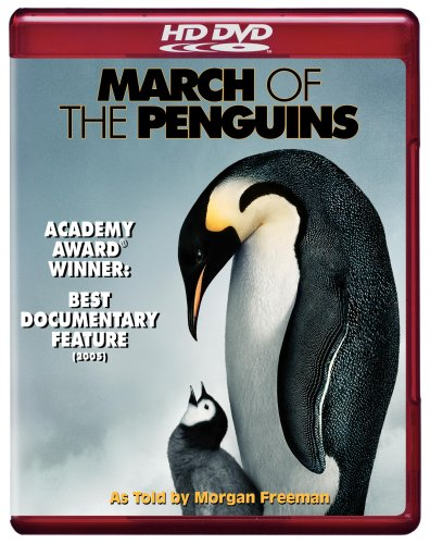 Cover art for  March of the Penguins [HD DVD]