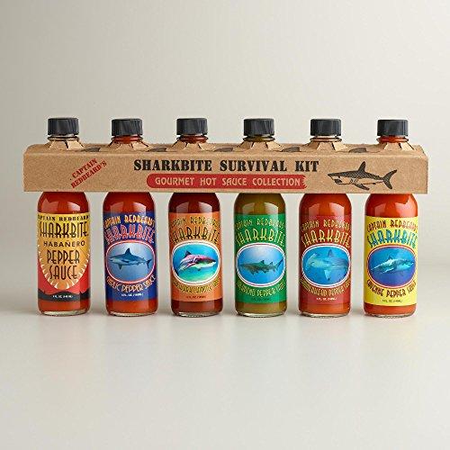 Sharkbite Hot Sauce 6-Pack (5 oz) (Hot Sauce Organizer compare prices)
