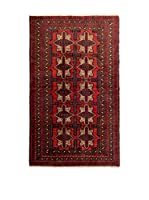 Navaei & Co. Alfombra Persian Mached Rojo/Multicolor 189 x 105 cm