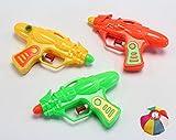 水鉄砲 アクアキッド カラー 3種アソート 25個入り / お楽しみグッズ(紙風船)付きセット