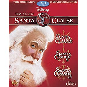 The Santa Clause Movie Collection [Blu-ray]