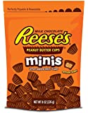 Reese's Minis Peanut Butter Cups, 8-Ounce Pouches (Pack of 4)