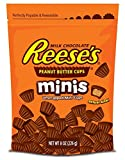Reeses Minis Peanut Butter Cups, 8-Ounce Pouches (Pack of 4)