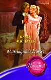 Marriageable Misses (0263849589) by Michaels, Kasey
