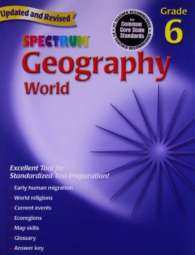 Geography, Grade 6: The World (Spectrum)