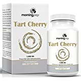 Tart Cherry Extract Supplement 90 Count 1,000 mg per Veggie Capsule By Morning Pep, NON GMO - GLUTEN FREE And Full Of Antioxidants and Flavonoids, Support Immune System Muscles and Joint Health