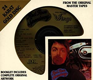 Red Rose Speedway DCC Gold Disc