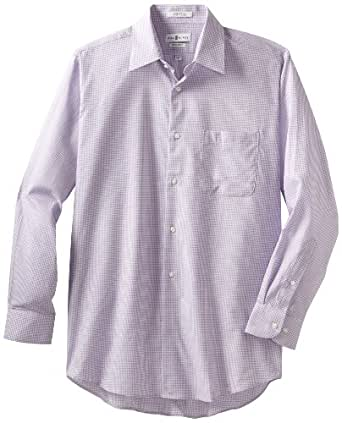 Bill blass men 39 s dress shirt at amazon men s clothing for Wrinkle free dress shirts amazon