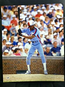 Andre Dawson PSA DNA Certified Autographed Montreal Expos 16x20 Photo by 12-6+Sportscards+&+Collectibles