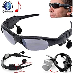 Review and Buying Guide of The Best  VicTsing® Wireless Headphones tooth Music Sunglasses Sun Glasses Headset Earphone Handsfree For iPhone 6 / 6 Plus 4 4S 5 5S 5C iPad iPod Samsung Galaxy S4 S3 S2 S1 Note 2 3 HTC one M7 Sony Xperia Z L36h L39h Nokia Lumia 920 tooth Mobile Phones Tablet PC