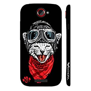 HTC ONE S Catapilot designer mobile hard shell case by Enthopia
