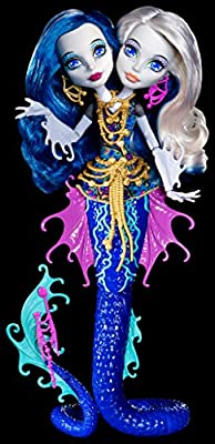 Monster High Great Scarrier Reef Peri & Pearl Serpintine Doll from Mattel