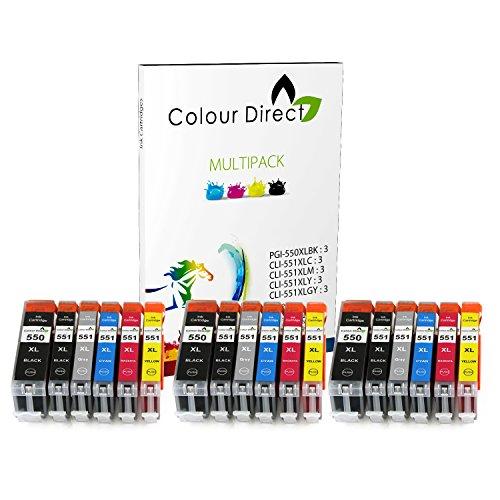 colour-direct-18-xl-cli-551xl-pgi-550xl-compatibile-cartucce-dinchiostro-sostituzione-per-canon-pixm