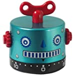 Invotis Kitchen timer robot Time Gear...