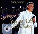Andrea Bocelli Concerto: One Night In Central Park [CD+DVD]