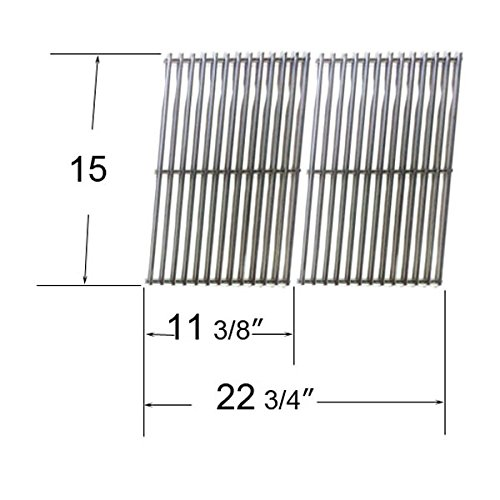Stainless Steel Cooking Grid For Gas Grill Models Kenmore, Charbroil, Arkla & Weber front-535670