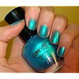 Confetti Tahitian Turquoise Nail Color 065