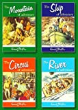 Enid Blyton The Adventure Series 4 Books RRP £19.96 - The Mountain of Adventure, The Ship of Adventure, The Circus of Adventure, The River of Adventure (Adventure)