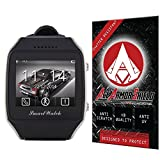 Ace Armor Shield Shatter Resistant Screen Protector for the Otium Gear Neo Bluetooth GPS SmartWatch / Military Grade / High Definition / Maximum Screen Coverage / Supreme Touch Sensitivity /Dry or Wet Easy Installation with free lifetime replacement warra