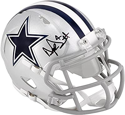 Dak Prescott Dallas Cowboys Autographed Riddell Speed Mini Helmet - Fanatics Authentic Certified - Autographed NFL Mini Helmets