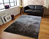 Charming Brown Hand Tufted Rug, Hand Woven ~5ft' x 7ft' On Sale! with FREE RUG INCLUDED