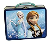 Frozen Anna and Elsa Tin Lunch Box (Pick Your Style) (Anna & Elsa)