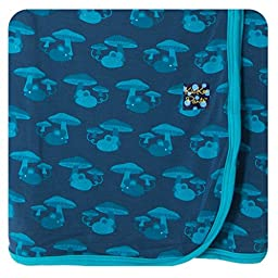 KicKee Pants Swaddling Blanket Twilight Field Mouse