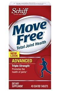 (历史最低)Schiff Move Free Advanced Joint Supplement三倍维骨力40粒折后$11.00