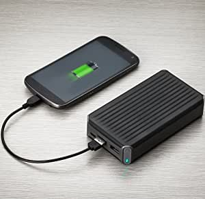 New Trent PowerPak+ 13500mAh Portable Dual USB Port External Battery Charger/Power Pack for Smartphones, Tablets and more (Upgraded Version of NT120T)