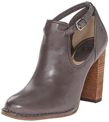 FRYE Women's Margaret Shootie Boot, Charcoal Soft Vintage Leather, 8 M US