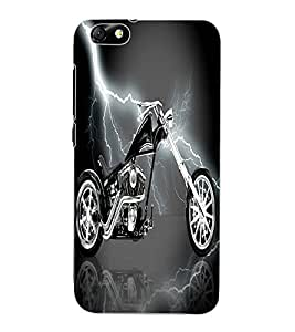 ColourCraft Amazing Bike Design Back Case Cover for HUAWEI HONOR 4X