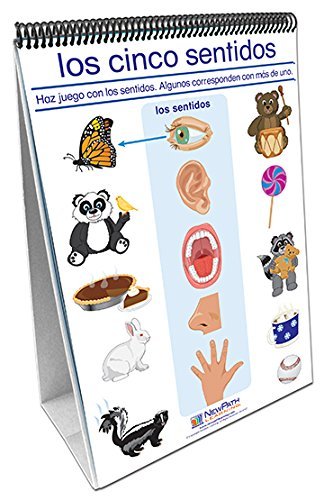 Newpath Learning 34-0127 All About Me Curriculum Mastery Flip Chart Set, Age 3 To 7, Spanish