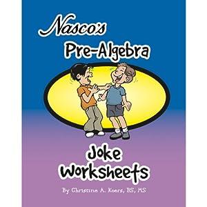 nasco tb22309t pre algebra joke worksheets 68 page book grades 6 9 industrial. Black Bedroom Furniture Sets. Home Design Ideas