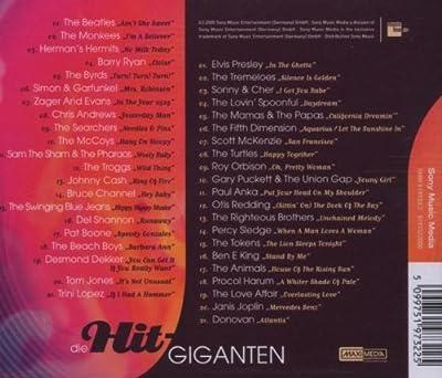 Die Hit Giganten - Hits der 60er