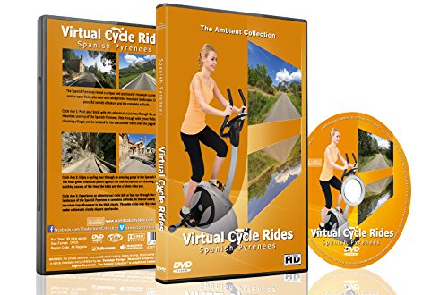 Virtual Cycle Rides - Spanish Pyrenees - For Indoor Cycling, Treadmill and Running Workouts (Cycle Dvd Workout compare prices)