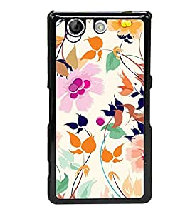Beautiful Pattern 2D Hard Polycarbonate Designer Back Case Cover for Sony Xperia Z4 Compact :: Sony Xperia Z4 Mini