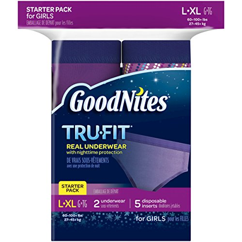 GoodNites Tru-Fit Underwear Starter Pack for Girls - 1