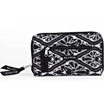 Asher Avenue Quilted Cotton Wrist Strap Wallet