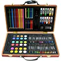 101-Pc Art Set w/Wooden Carrying Case