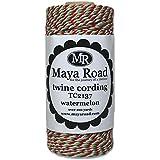 Maya Road Twine Cording, Watermelon