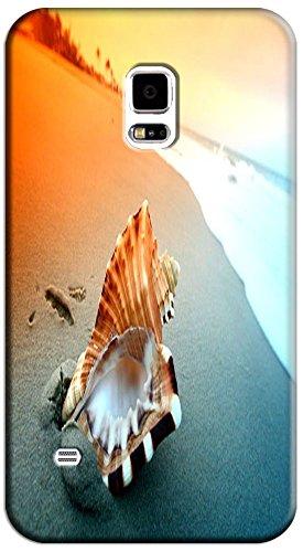 Phones Accessories Beautiful Beach Sunshine Cute Conch Cell Phone Case Samsung Galaxy S5 I9600 # 5