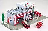 トミカタウン 消防署(サウンド付き)