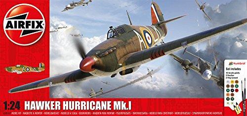 Airfix-124-Scale-Hurricane-MkI-Gift-Set