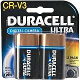 Duracell Lithium Batteries, Digital Camera, CR-V3, 2 ct.