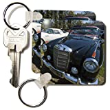 New York, Southampton. Classic sports cars - US33 WBI0245 - Walter Bibikow - Set Of 2 Key Chains